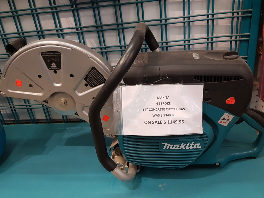 Makita 4 Stroke 14in Concrete Cutter